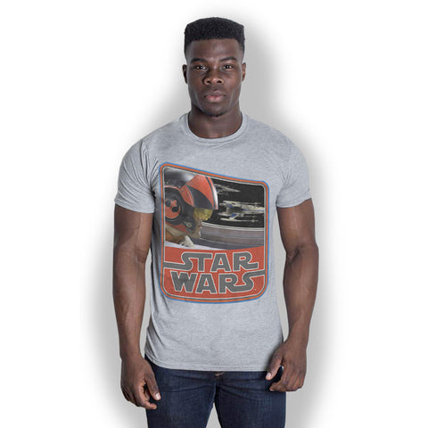 Star Wars Dameron T-shirt from T-Baggin.co.uk. For this and other Star Wars The Force Awakens T-shirts visit T-Baggin.co.uk
