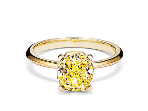 bague diamant jaune Tiffany and co