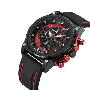 MEGIR Chronograph Sport Men Watch Top Brand Luxury Quartz Wristwatch