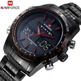 Naviforce Luxury Brand Military Sports Digital LED Watch