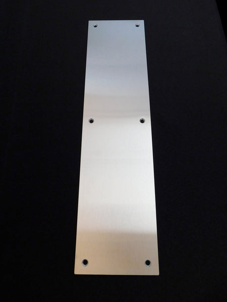 TCI Metal Stainless Steel Door Push Plate