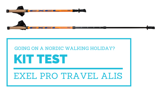 Testing the Exel Nordic Walker Pro Travel