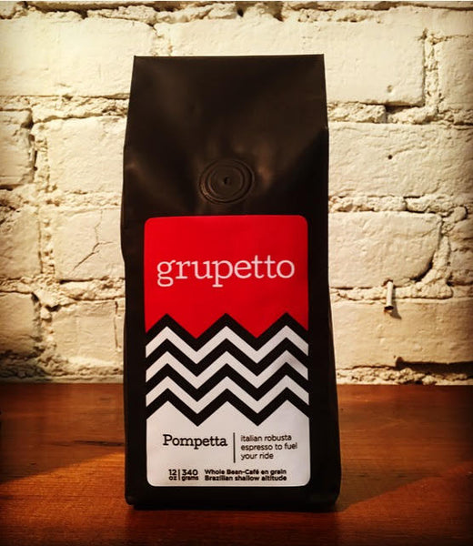 grupetto introduces pompetta coffee