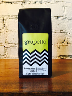 grupetto Switchback Light/Medium 12oz/340g Whole Bean Coffee