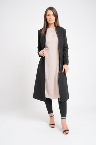 Grey Duster Coat