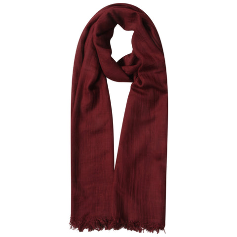Burgundy Mulberry Silk Hijab