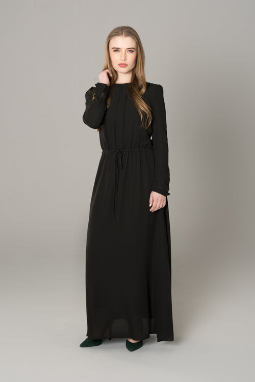 Midnight Black Maxi