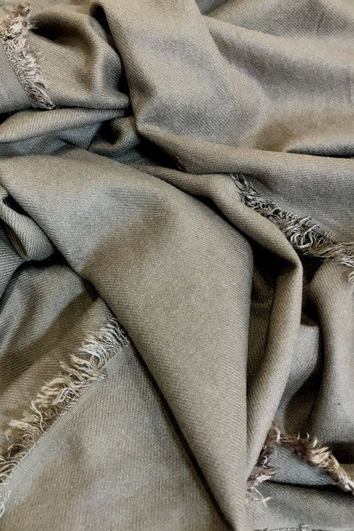 Taupe Cashmere Shawl