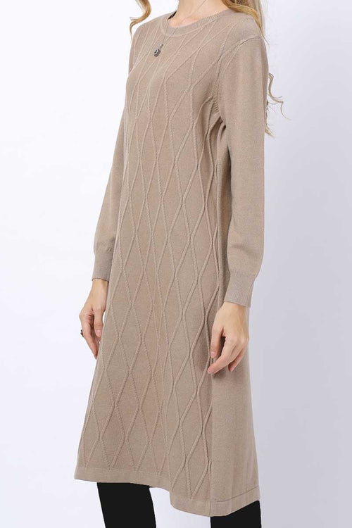 Criss Cross Detail Jumper Midi