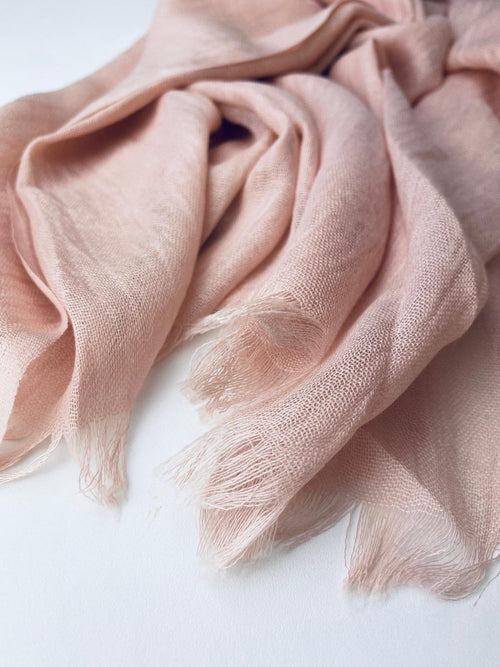 Iced Pink Luxury cotton Hijab