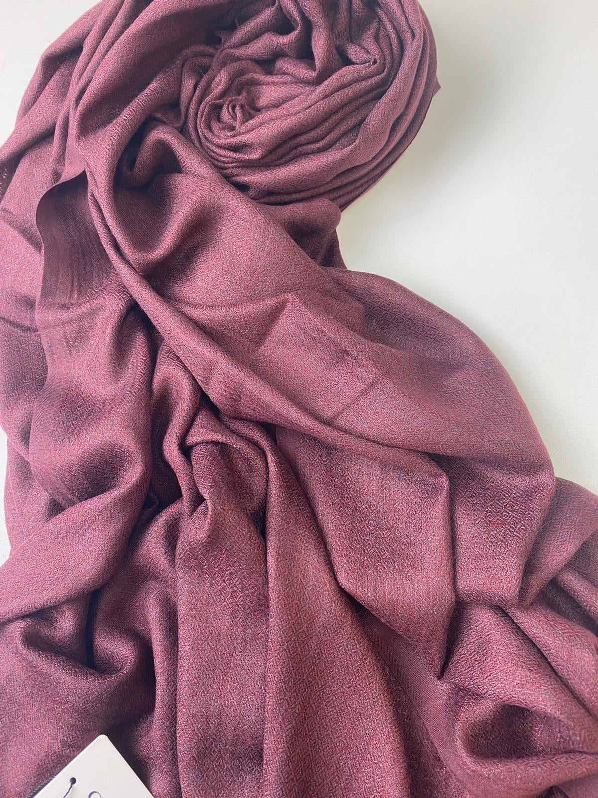 Mulberry Diamond Twill Hijab