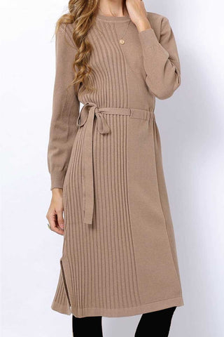 Soft mink with stripe detail