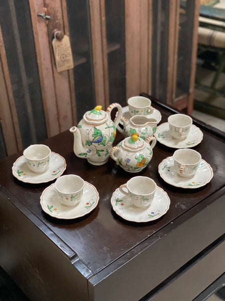 Demitasse Tea Service For 6