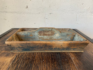 Antique Wooden Tool Tray