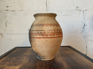 Early 19th Century Grecian Olive Pot