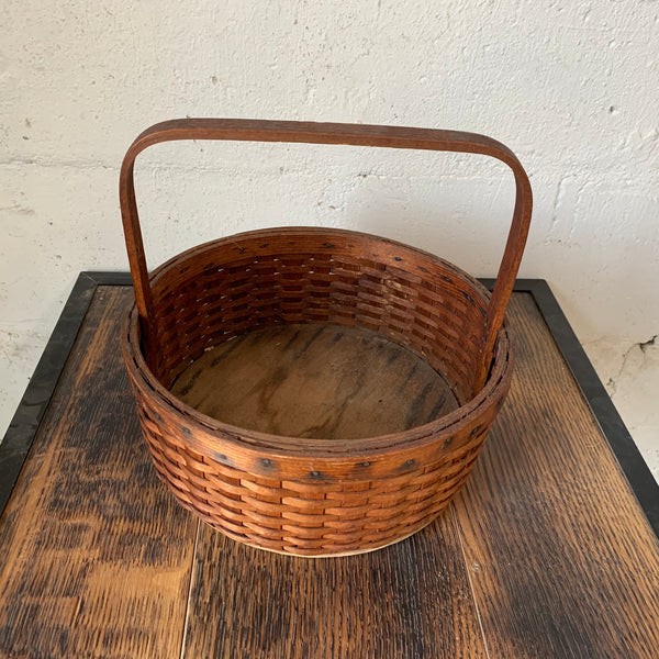 19th Century Handwoven Basket