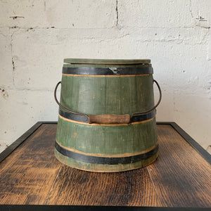 19th Century Shaker Firkin Bucket