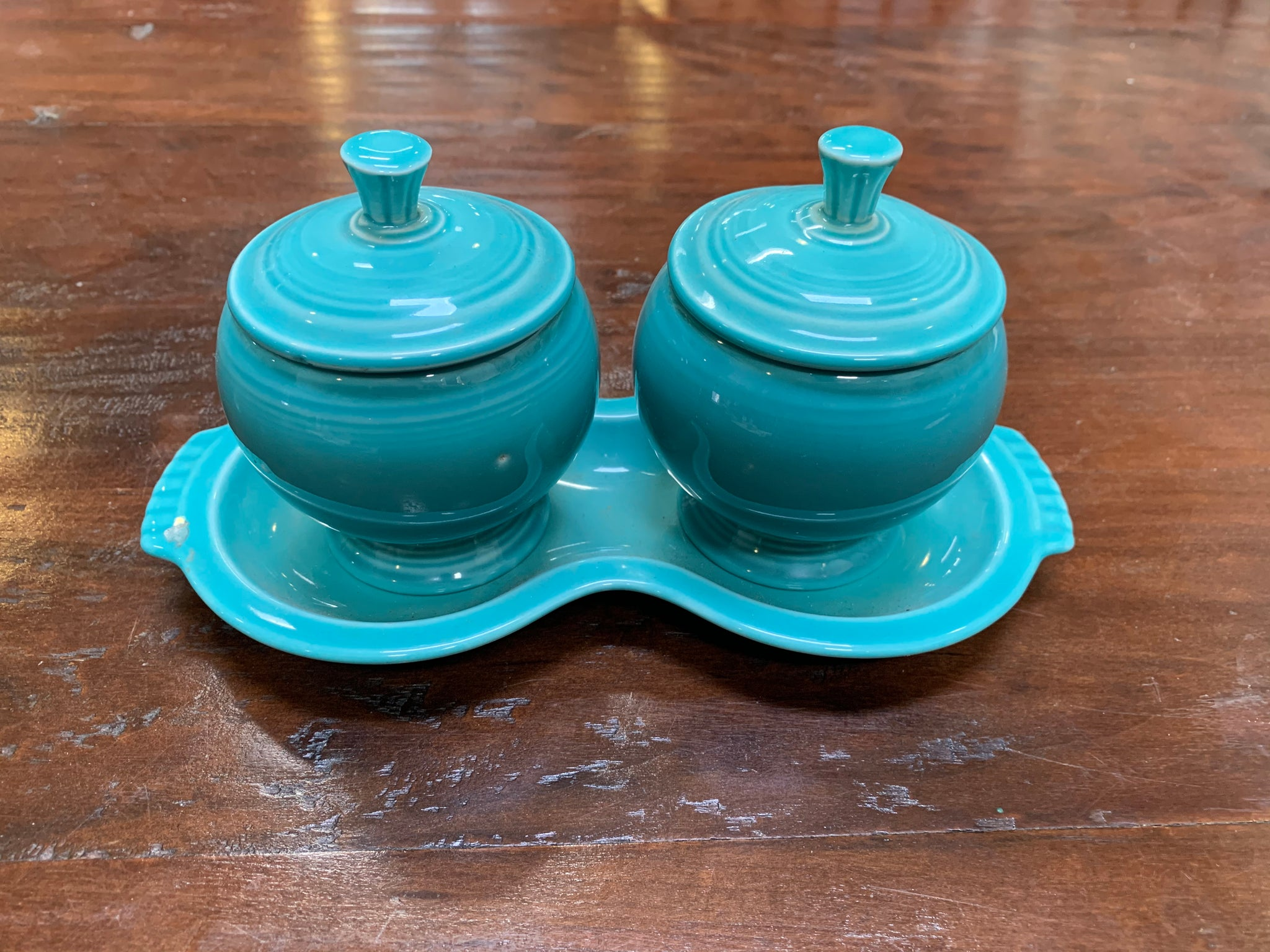 Vintage Fiesta Serving Set