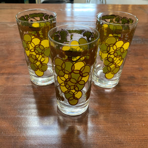 Vintage Glasses - Set of 3