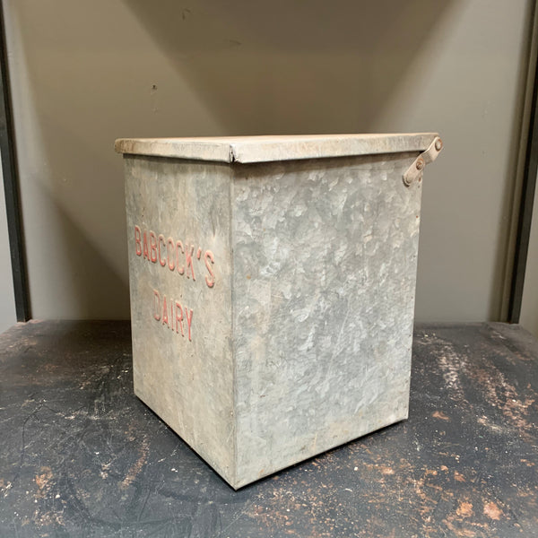 Vintage Milk Delivery Box