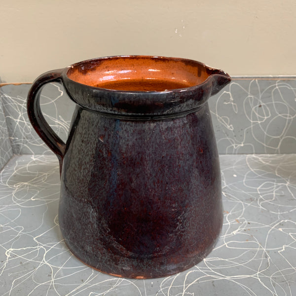 19th Century Albany Slipware Pitcher