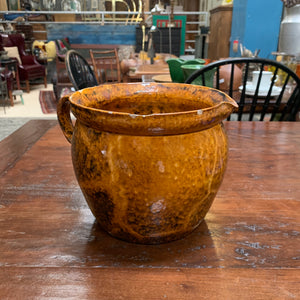 Beautiful, French, Rustic Glaze Pitcher