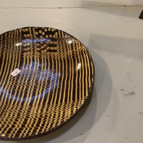 Sophisticated Contemporary American Redware Plate