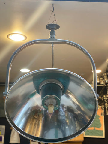 Vintage surgeons light now a fabulous articulating pendant for above your kitchen island or dining table