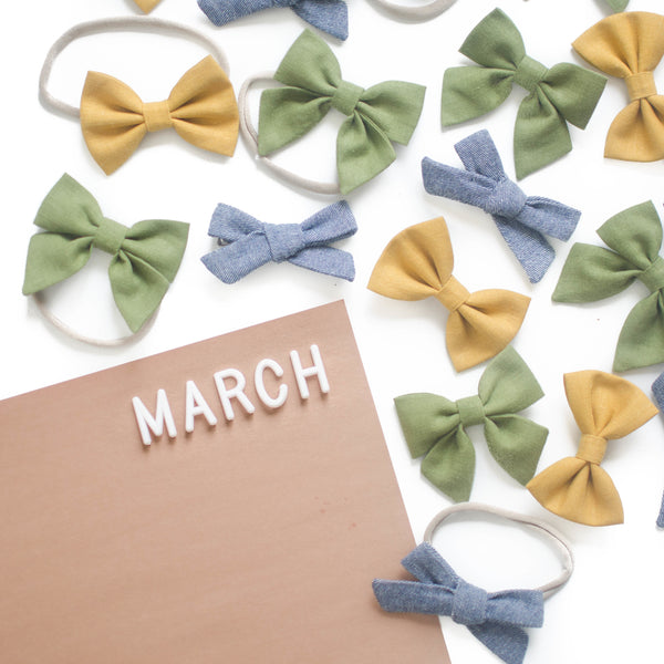 March 2018 Bows