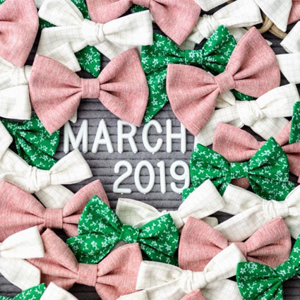 March 2019 Bows
