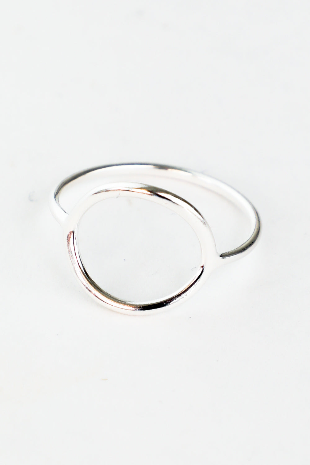 OPEN CIRCLE STACKING RING