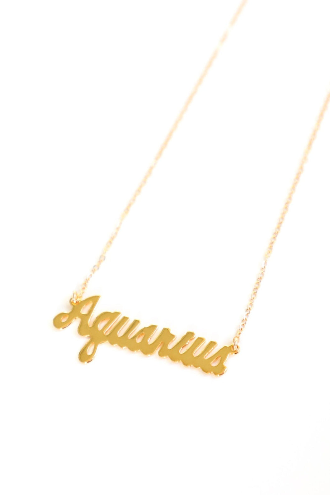 AQUARIUS NECKLACE