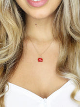 Good Luck Elephant Necklace • Red