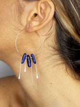 3RD EYE OPENING • Lapis Lazuli Statement Earrings