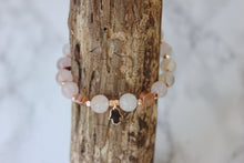 The Love Bracelet | Rose Gold x Rose Quartz