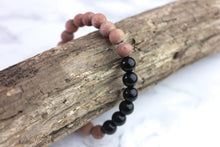 Nature's Sacred Protection | Black Obsidian x Raw Rosewood
