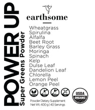 Power Up Super-Greens Powder - 400g