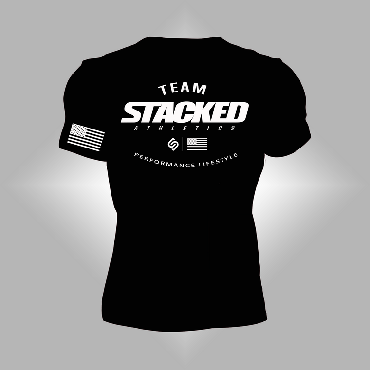 Team Stacked black