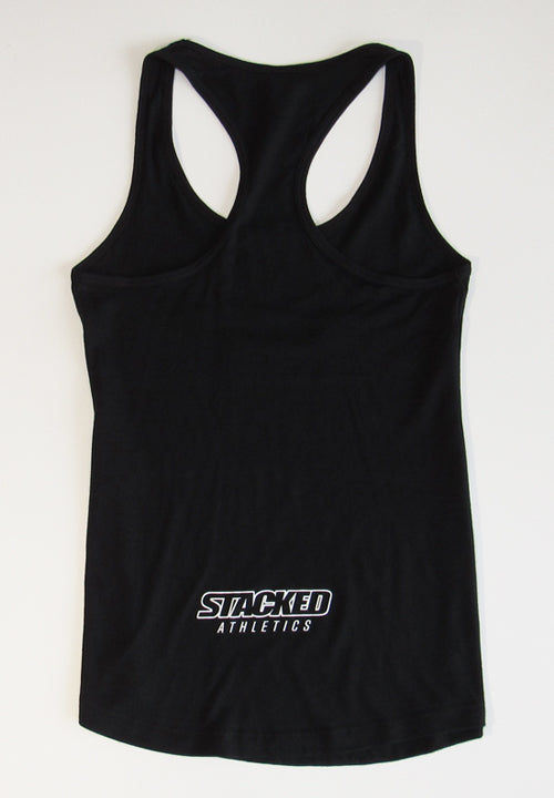 Ladies Live Life tank black