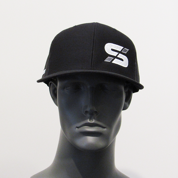 "Bold athletes ""S"" trucker hat Blk/Blk"