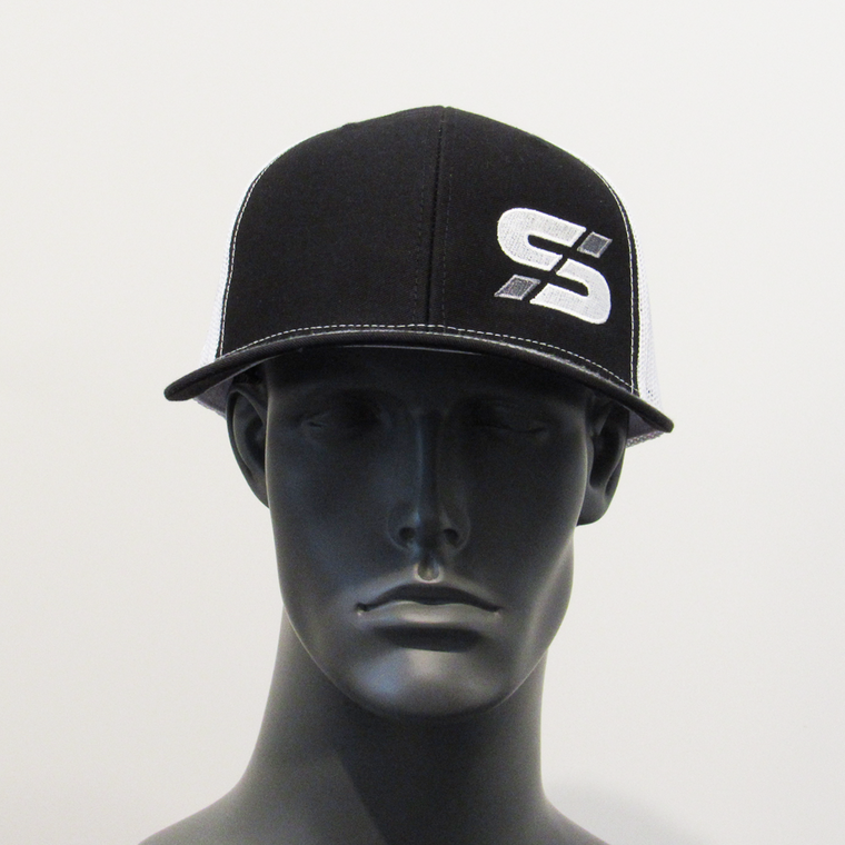 "Bold athletes ""S"" trucker hat Blk/White SOLD OUT"