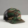 "Camo ""Fitted""  3D Stitched STKD Hat"
