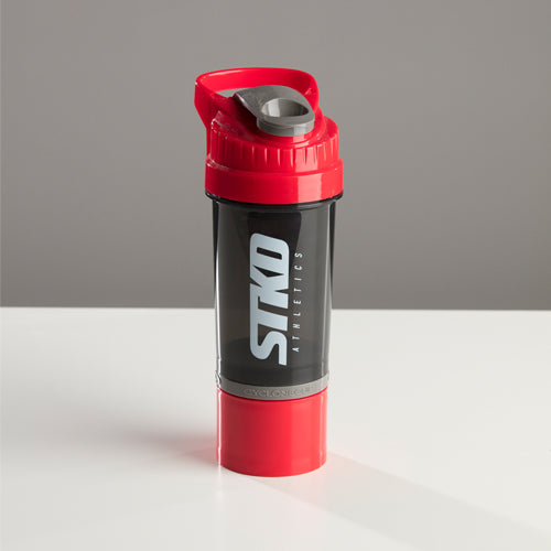 Shaker STKD 22oz with storage cup red