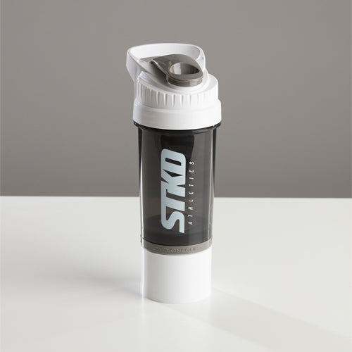 Shaker STKD 22oz with storage cup white