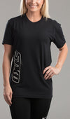 Tee Ladies Athletic Freak black