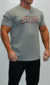 Tee Mens Can't fake strong grey