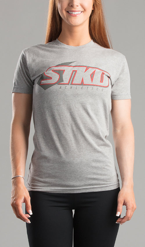 Tee Ladies Can't fake strong grey