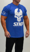 Tee Mens Got Your 6 Military blue