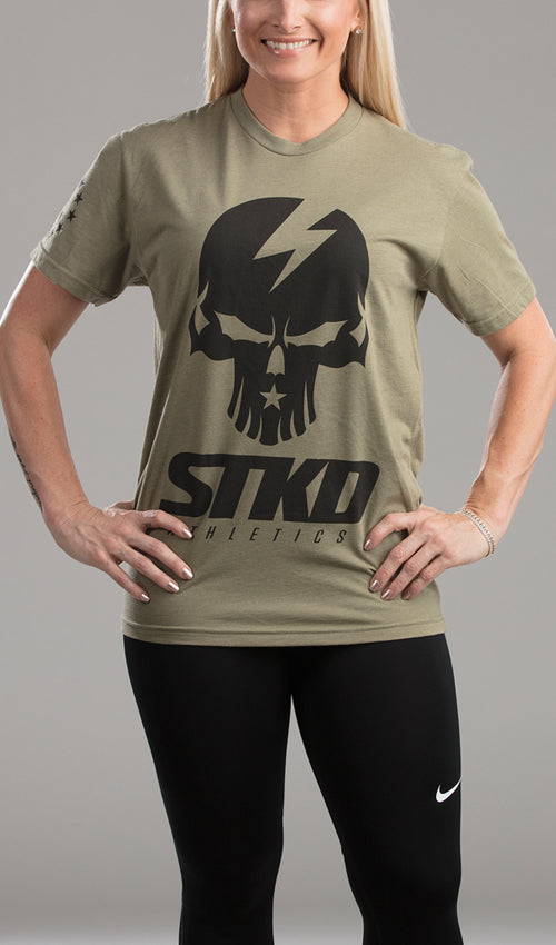 Tee Ladies Got Your 6 Military green
