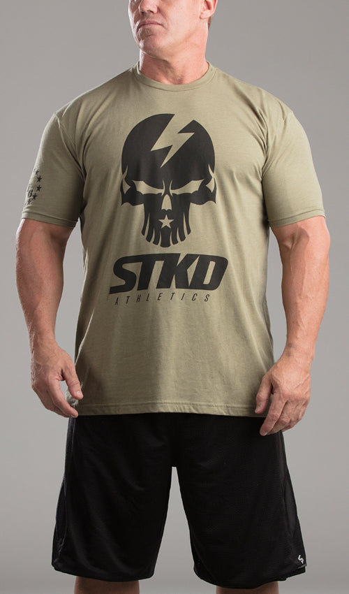 Tee Mens Got Your 6 Military green